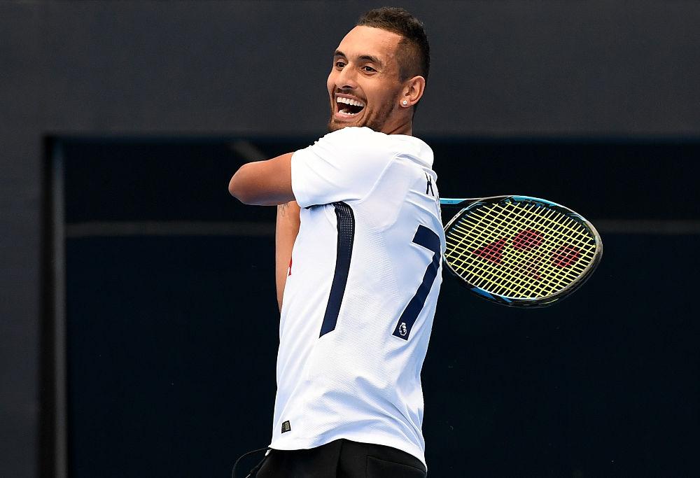 Australian Open 2018: Dimitrov edges Kyrgios on four-set blockbuster