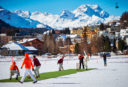 St Moritz ice cricket: The new game on the sporting block